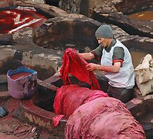 In the Dyeing Pits by Peter Hammer