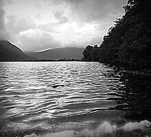 The Dark Side Of The Lake District (Buttermere) by Lou Wilson