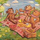 Teddy Bear Picnic by eliwolff