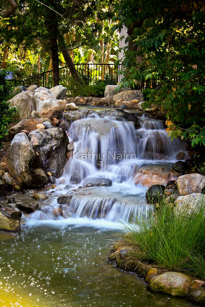 Waterfall by Kathy Nairn
