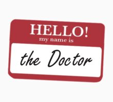 My Name is the Doctor by MrSaxon