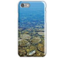 Greek peeble waterscape iphone case iPhone Case/Skin