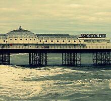 Brighton Pier by Victoria Lincoln