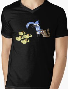 Regular Show Mens V-Neck T-Shirt