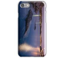 Greek twilight waterscape1 iPhone Case/Skin