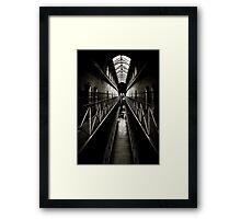 Melbourne Gaol Framed Print
