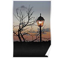 Lighting the Sunset Poster