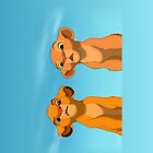 The Lion King: Simba and Nala by Alexandra Grant