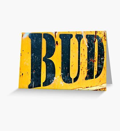 Bud  Greeting Card