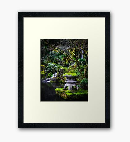 Earth, Fire, Water and Stone Framed Print