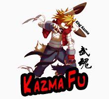 Kazma Fu Womens Fitted T-Shirt