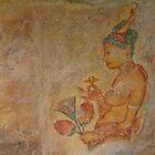 Sigiriya Frescoes by Dimuthu  Sudasinghe