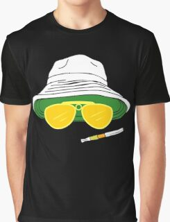 Fear and Loathing In Las Vegas Raoul Duke Graphic T-Shirt