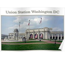 Union Station Washington DC Poster