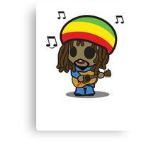 Reggae Man Canvas Print