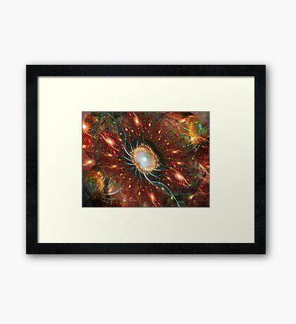 Expanding Light ~ Big Bang Theory Framed Print