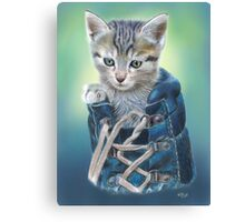 Puss in Boot (with Background) Canvas Print