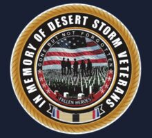 Desert Storm Memorial One Piece - Long Sleeve