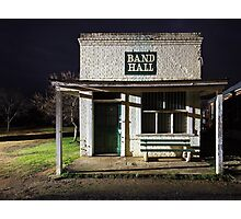 Band Hall at Grenfell Photographic Print
