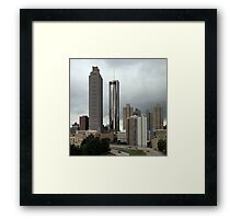 Atlanta # 3 Framed Print