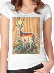 Nature Spirit Women's Fitted Scoop T-Shirt