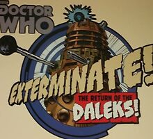 Comic style doctor who dalek  by Katie358