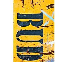 BUD - (vertical) Photographic Print