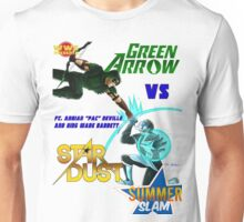 When Worlds Collide (Stardust V. Arrow I) Unisex T-Shirt