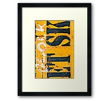 Block Etsk Framed Print