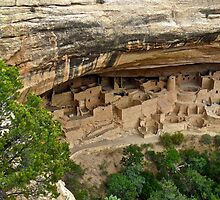 Ancient Pueblo of Mesa Verde N.P. by EarthPhoenix