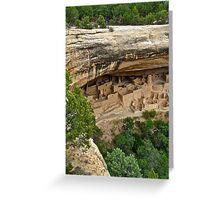 Ancient Pueblo of Mesa Verde N.P. Greeting Card