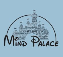 Mind Palace - (black text) One Piece - Short Sleeve