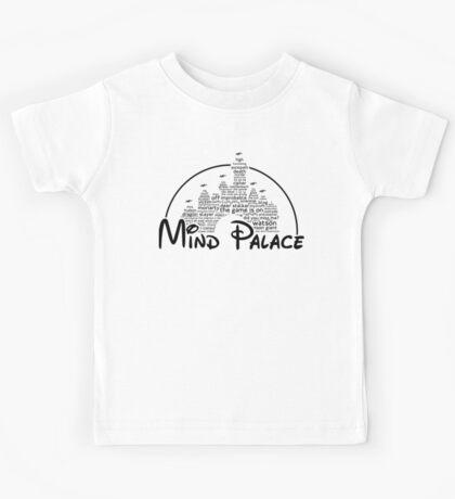 Mind Palace - (black text) Kids Tee