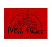 Mind Palace - (black text) Art Print