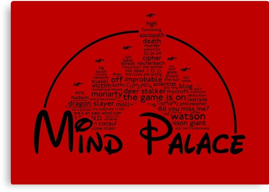 Mind Palace - (black text) by jayveezed