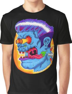 Freaky Frankie (Blue Variant) Graphic T-Shirt
