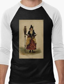 Fancy dresses described or What to wear at fancy balls by Ardern Holt 302 The Witch Men's Baseball ¾ T-Shirt