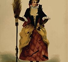 Fancy dresses described or What to wear at fancy balls by Ardern Holt 302 The Witch by wetdryvac