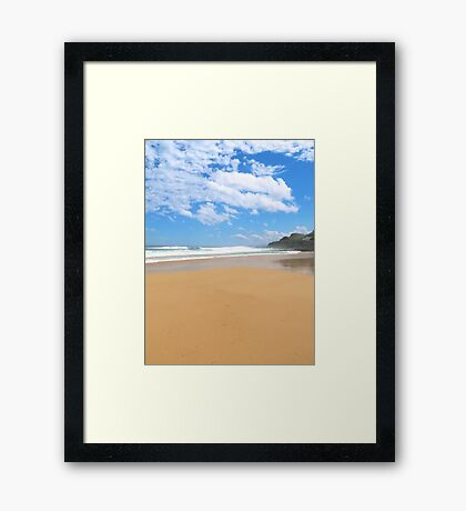 Newcastle Beach, NSW Framed Print
