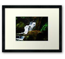 Falls of Serenity Framed Print