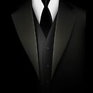 Men's Tuxedo Suit  iPad Case / iPhone 5 Case / iPhone 4 Case  by CroDesign