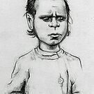 Portriat of Indigenous boy by urbanmonk