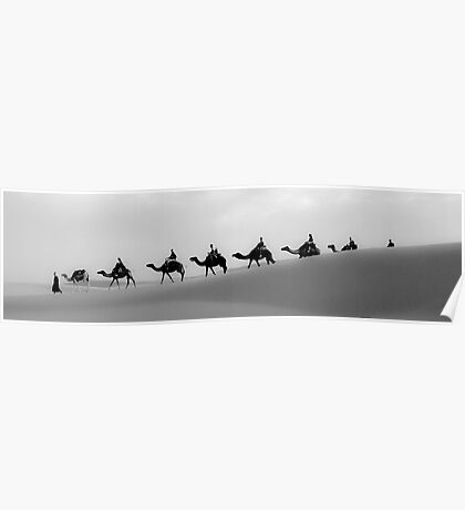 Camels Crossing  Poster