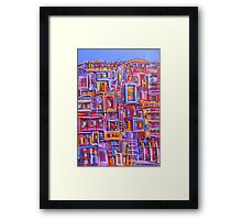 C.B.D. Connections Framed Print