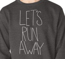 Let's Run Away x Snow Mountains Pullover
