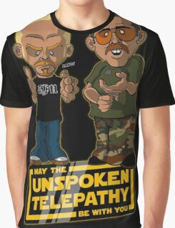 Unspoken Telepathy Graphic T-Shirt