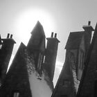 Sun over Hogsmeade by laurenb115