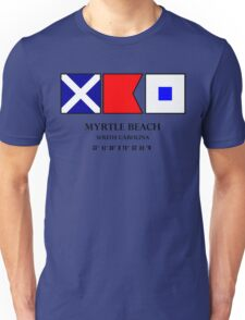 Myrtle Beach Nautical Flag Unisex T-Shirt