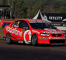 No1 Whincup Team Vodafone by Christopher Houghton