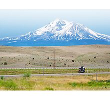 Shasta Ride Photographic Print